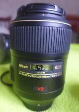 AF-S VR Micro-Nikkor 105mm f/2,8G IF-ED