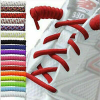 1 Pair Twisted Curly Spring Elastic Coil Shoes Laces Shoelaces Never Tie Again