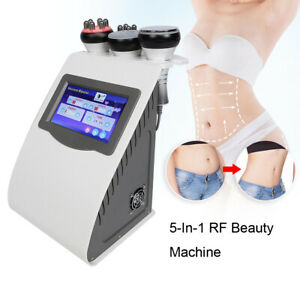 5-In-1 40KHz RF Vacuum Beauty Machine Face Lift Weight Loss Fat Removal Massager