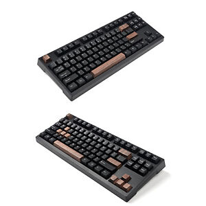 OEM Wooden Keycaps Walnut Wood Key Cap Cover Case  for German CHERRY MX axis