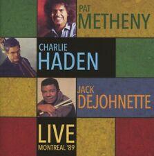 Pat Metheny, Charlie Haden, Jack Dejohnette - Live Montreal '89 (2016)  CD  NEW
