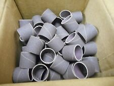 """100 Merit 1"""" X 1"""" Spiral Wound Bands, 100 Grit  FREE SHIPPING"""