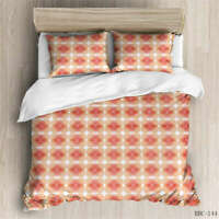 Red Lightning 3D Quilt Duvet Doona Cover Set Single Double Queen King Print