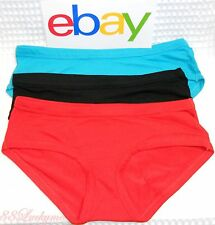❤️ Set Of 3 Sexy Panties  Day No.30  Marine Blue , Black and Red NWOT Small