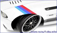 M Sport BMW 20mm 3 Color Stripes Decals M3 M5 Z4 E30 E36 E39 E46 E70 E71 E90