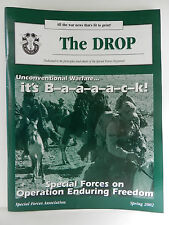 GREEN BERET, THE DROP MAGAZINE, SPRING 2002 ISSUE, SPECIAL FORCES ASSOCIATION