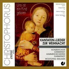 Kantaten Und Lieder Zur Weihnacht von Konzertchor&Kammerorch.Darmstadt (1994)