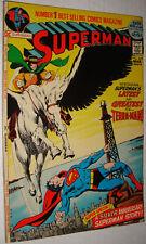 SUPERMAN #249 52 PAGE GIANT TERRA MAN ADAMS ART NM 9.2