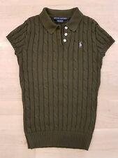 NEUWERTIG NP 69€: Poloshirt Ralph Lauren Gr. S Damen Strick grün khaki