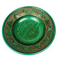 """""""Vrama"""" Pottery Handcrafted Large 14"""" Serving Bowl Signed Porcelain Millor 174"""