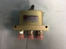 NEW RLC Electronics SMP-2-N-I Manual Operation High Power Coaxial Switch Type-N