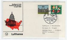 GERMANY: 1965 FIRST FLIGHT COVER TO USA (C22528)