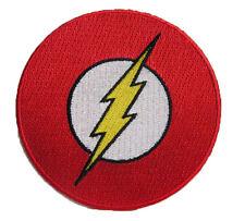 FLASH - Superhero Logo - Uniform Patch Aufnäher - zum Aufbügeln - neu