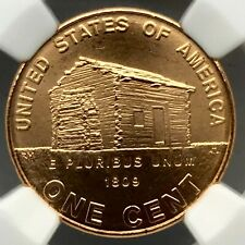 2009- BIRTH & CHILDHOOD SMS BRONZE Lincoln Bicentennial  Penny 1C NGC MS67RD