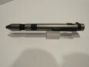 TERZETTI Traveler 7 Function Multi Use Utility Ballpoint Pen-Gunmetal