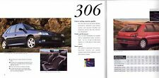 Peugeot 1994-95 UK Market Sales Brochure 106 205 306 405 605