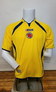Lotto S 2007-09 Colombia Home Soccer Football Jersey