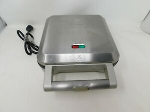 Breville Pie Maker Model BP1640XL Tested Works Stainless Steel Non Stick