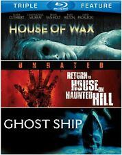 House of Wax/Return to House on Haunt Blu-ray Region A BLU-RAY/WS
