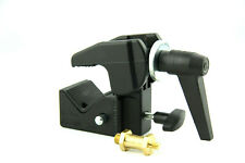Manfrotto MA 035 Super Clamp Universallklemme inkl. Manfrotto 037 Zapfen # 6082