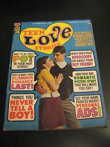 Rare! Teen Love Stories #2 1967 Warren Magazine, Frazetta! HTF! (VG/FN) or (VG+)