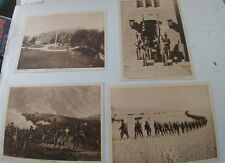 4 1917 Military prints From Mentor Magazine Gettysburg, West Point etc