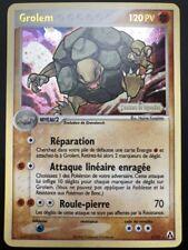 Carte Pokemon GROLEM 6/92 Holo Reverse Créateurs de Légendes Bloc EX FR