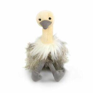 Korimco 30cm Osterich Kids/Children Animal Soft Plush Stuffed Toy Grey 3y+
