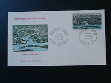 African Riviera FDC Ivory Coast ahigh value air mail stamp 1971