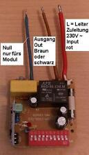 SUPER-FUNK-Modul,433,92MHz,DÜWI/REV/INTERTECHNO,Einbau in Verteilungen u.Geräten