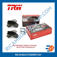 KIT PASTIGLIE FRENO ANTERIORE TRW VW FLIGHT POLO CLASSIC COUPé FURGONATO VARIANT