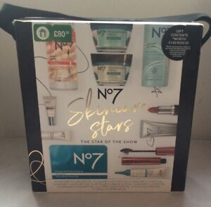 NO.7 Skin Care Stars THE STAR OF THE SHOW Contents Worth £149 NEW