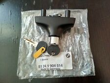 BMW E30 trunk lid lock with key !!NEW!! GENUINE 51241904514