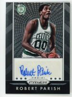 2015-16 Robert Parish Auto Panini Prizm Autographs