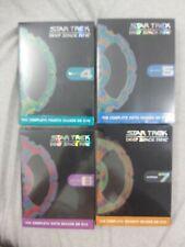 STAR TREK  deep space nine  SEASONS 4,5,6.7 SEALED BOXES  LOT OF DVD SETS