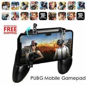 Mobile Phone Gaming Controller Gamepad Joystick Fire Trigger For PUBG Fortnite