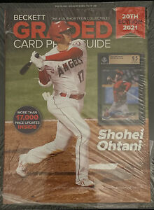 20th Edition 2021 Beckett Graded Card Price Guide Shohei Ohtani