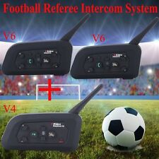 Motorcycle Bluetooth Interphone BT Intercome Communication For Football Referee