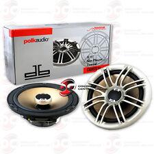 "POLK AUDIO DB651s 6.5"" 6 1/2 INCH 2WAY CAR BOAT MARINE AUDIO SLIM MOUNT SPEAKERS"