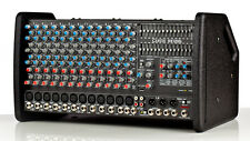 CARVIN RX1200L LIGHTWEIGHT STEREO POWERED 1600W 12 CHANNEL MIXER NEW