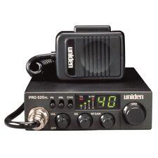 UNIDEN PRO520XL PROFESSIONAL COMPACT PROFESSIONAL 40 CHANNEL CB RADIO