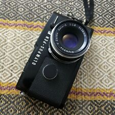 Olympus Pen FT Black 35mm SLR Film Camera 38mm f/1.8 Lens