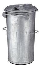 Stahlverzinkter Abfallbehälter 90 Liter verzinkt