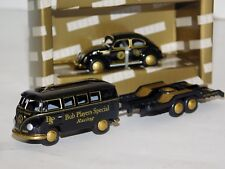 LOT of 2 LIKE JPS : VOLKSWAGEN T1 BUS WITH TRAILER & BEETLE / KAEFER BUB 1/87