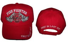 Fireman Fire Fighter Department  Baseball Caps Hats Embroidered ( 7501F10 ^)