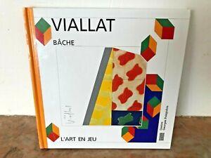CLAUDE VIALLAT , bâche, Elizabeth Amzallag-Augé, l'art en Jeu Centre Pompidou