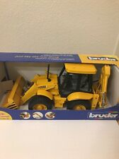 Unopened Bruder 02428 Pro Series JCB 4CX Loader and Backhoe Tractor 1:16 Scale
