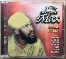 JUNIOR KELLY - Reggae Max - CD Album - DANCEHALL REGGAE
