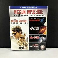 Mission Impossible 5 Movie Collection Blu-ray. [no Digital]