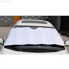 2BDA 128*60cm Front Auto Sun Visor Car Windshield Silver Car SunShade Cover